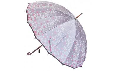 高級雨傘「桜吹雪」紫色