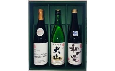 B30-108 清酒鶴岡ユネスコラベルセット