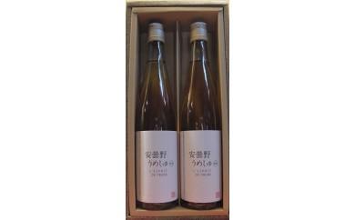 [№5715-0103]安曇野うめしゅ原酒 500ml 2本セット