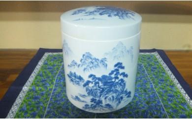 A100-26 永遠の壷(山水)神田陶器店