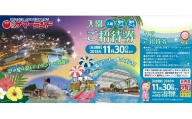 【平成30年】東京サマーランド入園招待券2枚
