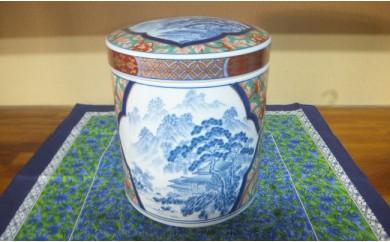 A150-25 永遠の壷(鳳凰山水)神田陶器店