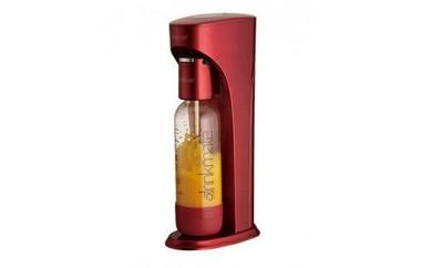 家庭用炭酸飲料メーカー ドリンクメイト スターターセット (レッド)