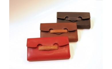 [№5656-0313]ギャルソン型長財布◆セラピードロップ ~Handmade Leather goods~◆