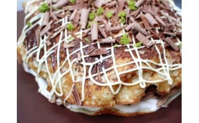 お好み焼き型ケーキ