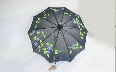 手書き日傘(アサガオ)一点もの_0607