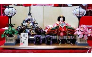 X-29 親王飾り・桜(京都西陣織金襴)