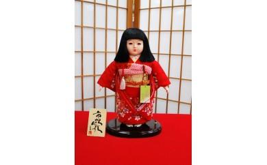 X-13 正絹刺繍市松人形・8号