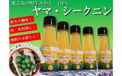 141 ~野生のみかんの味~徳之島のヤマ・シークニン果汁(70ml×5本)