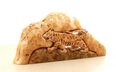 [№5708-0321]カバのコブの虎組木B