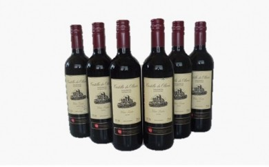 A53 スペイン産赤ワイン オレリアDO6本セット