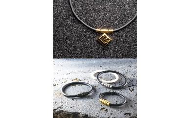 コラントッテ磁気ネックレス(プレミアムゴールド)&ブレスレット(プレミアムゴールド)