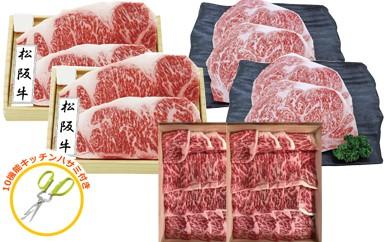 【200023】飛騨牛・最高級ブランド牛和牛ステーキ焼肉セット★豪華特盛