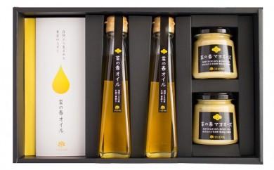 B698 大春の里 うきは産菜種油とマヨネーズの調味セット