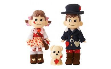 H168 ハートのペコポコ&ドッグ人形