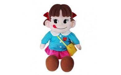 H165 園児服を着たペコちゃんぬいぐるみ(大)