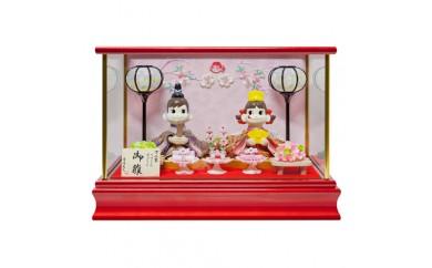 I022 ペコちゃん&ポコちゃんケース入り雛人形