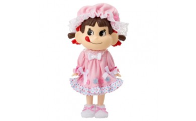 H167 ぱちくり人形スヤスヤおねんねペコちゃん