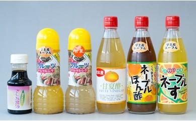 5-7 シガキ食品 宇土産ネーブル・甘夏使用の調味料&熊本醤油セット