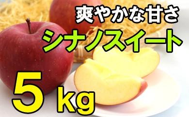 【先行予約】りんごシナノスイート(ご自宅用)5kg