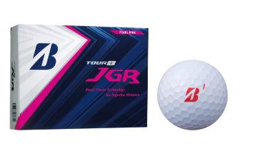 【ゴルフボール】BRIDGESTONE TOUR B JGR(パールピンク)2ダースセット