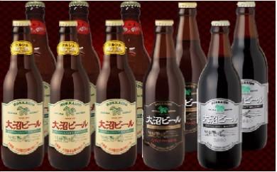 747 大沼ビール 330ml瓶 10本セット【姉妹都市七飯町友好返礼品】