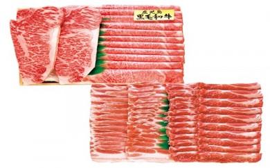 8E-02鹿児島県産黒毛和牛・黒豚詰合せ
