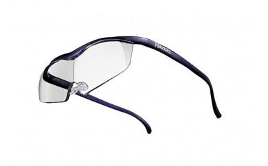 ハズキルーペ ラージ クリアレンズ(1.6倍)紫