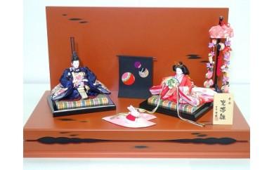 ひな人形(つるし飾り付き)