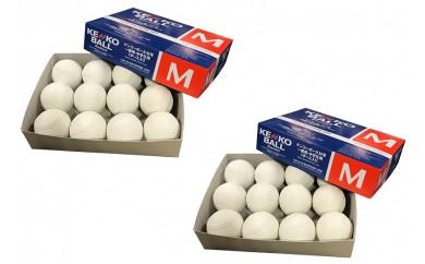 050-028 ケンコー 軟式野球M号ボール(一般・中学用)24球
