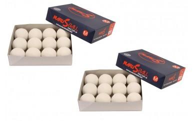 050-027 マルエス 軟式野球M号ボール(一般・中学用)24球