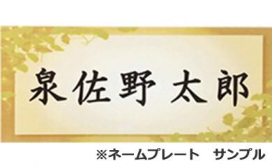 【5万円以上の寄附】あなたのお名前を「関空アイスアリーナ」に刻むネームプレート