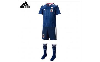 030-015 アディダス ジュニア Kids サッカー日本代表 ホームミニキット(DTQ69-BR3631)