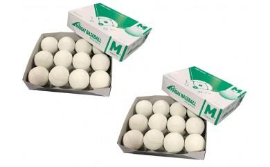 050-026 ナイガイ 軟式野球M号ボール(一般・中学用)24球