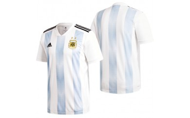 030-012 アディダス サッカーアルゼンチン代表 ホームレプリカユニフォーム(DTQ94-BQ9324)Oサイズ