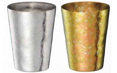1810019 SUSgallery タイタネスタンブラー マルティプルカップ(S)ペアセット(Mirror & Sakura)