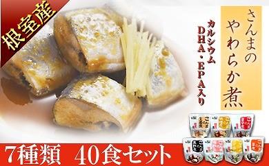 CA-24008 【北海道根室産】骨まで食べれる!さんまのやわらか煮セット[376586]