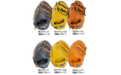 100-027 ミズノ 硬式野球用ファーストミット(右投げ用) 2018年数量限定品 1AJFH53100