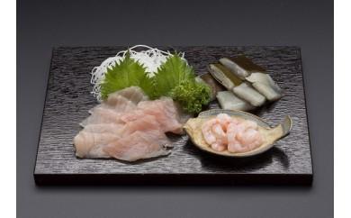 """[№5683-0121]富山の食文化""""昆布〆のセット"""""""