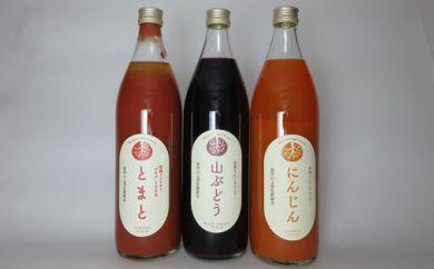 旬素材 ジュースセット(大瓶)