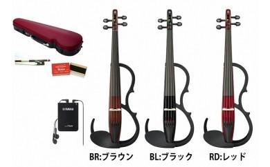 (1180)YAMAHA サイレントバイオリン YSV104S<弓・ハードケース・松脂セット>