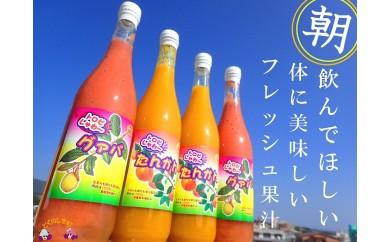 333~朝飲んでほしいフレッシュ果汁~徳之島のたんかん・グアバジュース
