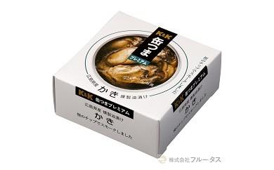 【12018】缶つまプレミアム 広島かき 燻製油漬け 60g×6缶