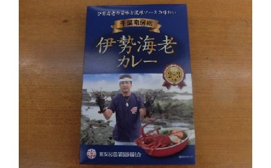 [№5651-0543]漁協からの贈り物(伊勢海老カレー)