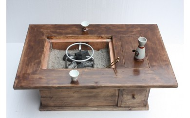 大工さん手作りの昔ながらの火鉢