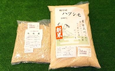 [№5533-0047]幻の米ハツシモ5kgともち麦1kgセット