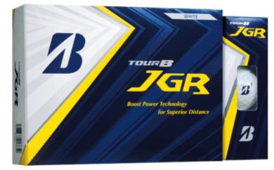 【12021】ブリヂストンゴルフボールTOURB JGRパール白1ダース