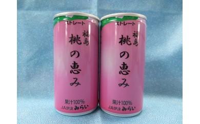 B-11:果汁100%ジュース「福島桃の恵み」 30本