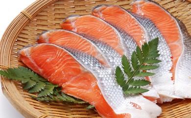 [№5832-0174]紅鮭切身甘口(半身)約1kg