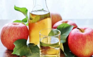 [№5659-0454]特別栽培りんご使用 無添加蜂蜜入りジュース6本セット